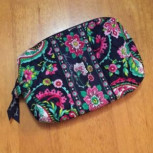 Vera Bradley Medium Cosmetic Bag Petal Paisley
